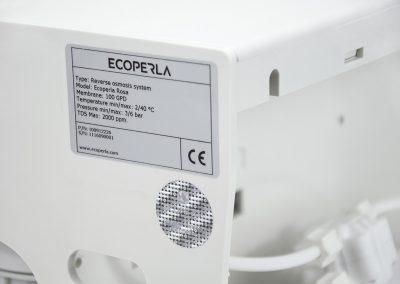 Tabliczka znamionowa Ecoperla Security